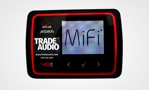 Trade Audio Hotspot & WIFI Services